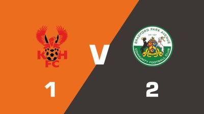 Highlights: Kidderminster Harriers vs Bradford Park Avenue