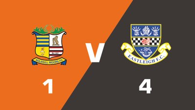 Highlights: Solihull Moors vs Eastleigh