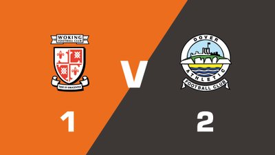 Highlights: Woking vs Dover Athletic