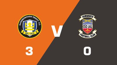 Highlights: Gainsborough Trinity vs Tamworth