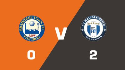 Highlights: Braintree Town vs FC Halifax Town