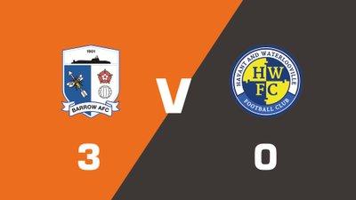 Highlights: Barrow vs Havant & Waterlooville