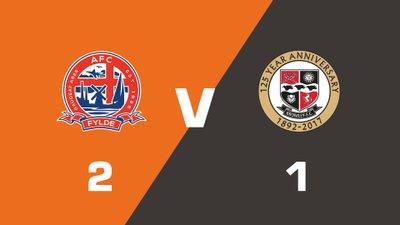 Highlights: AFC Fylde vs Bromley
