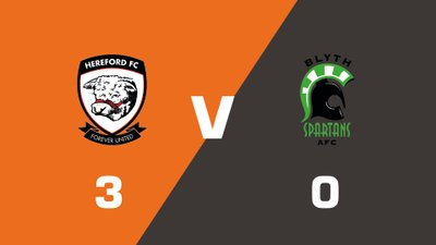 Highlights: Hereford vs Blyth Spartans