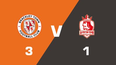 Highlights: Brackley Town vs Alfreton Town
