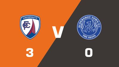 Highlights: Chesterfield vs Aldershot Town