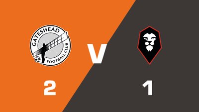 Highlights: Gateshead vs Salford City