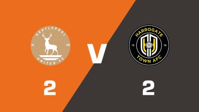 Highlights: Hartlepool United vs Harrogate Town