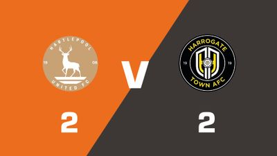 Highlights: Hartlepool United vs Harrogate Town