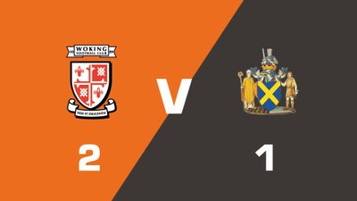 Highlights: Woking vs St Albans City