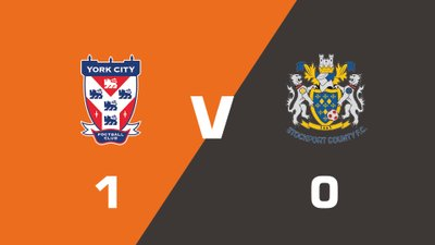 Highlights: York City vs Stockport County