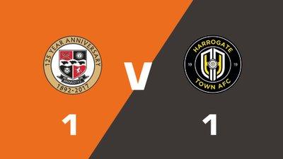 Highlights: Bromley vs Harrogate Town