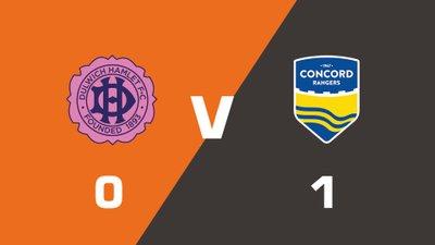 Highlights: Dulwich Hamlet vs Concord Rangers