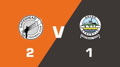 Highlights: Gateshead vs Dover Athletic