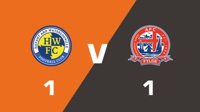 Highlights: Havant & Waterlooville vs AFC Fylde
