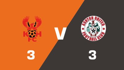 Highlights: Kidderminster Harriers vs Ashton United