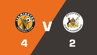Highlights: Leamington vs Bradford Park Avenue