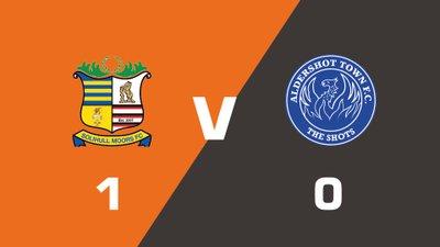 Highlights: Solihull Moors vs Aldershot Town