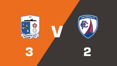 Highlights: Barrow vs Chesterfield