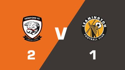 Highlights: Hereford vs Leamington