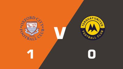 Highlights: Oxford City vs Torquay United