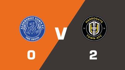Highlights: Aldershot Town vs Harrogate Town