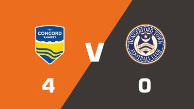 Highlights: Concord Rangers vs Hungerford Town