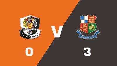 Highlights: Dartford vs Wealdstone