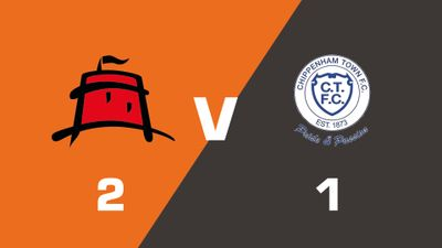 Highlights: Eastbourne Borough vs Chippenham Town