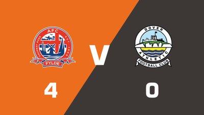 Highlights: AFC Fylde vs Dover Athletic