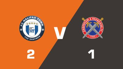 Highlights: FC Halifax Town vs Dagenham & Redbridge