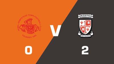 Highlights: Hemel Hempstead Town vs Woking
