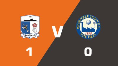 Highlights: Barrow vs Braintree Town