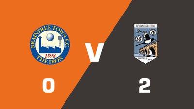 Highlights: Braintree Town vs Maidenhead United
