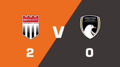 Highlights: Bath City vs Weston-super-Mare AFC