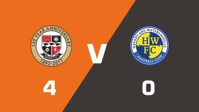 Highlights: Bromley vs Havant & Waterlooville
