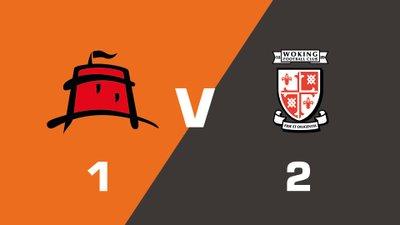 Highlights: Eastbourne Borough vs Woking
