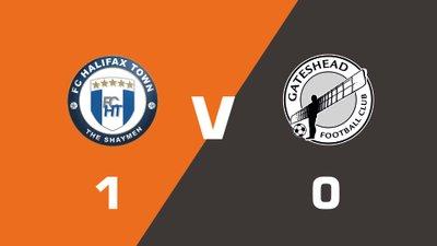 Highlights: FC Halifax Town vs Gateshead