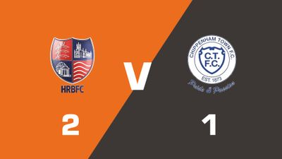 Highlights: Hampton & Richmond Borough vs Chippenham Town