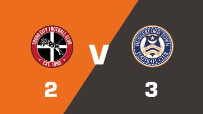 Highlights: Truro City vs Hungerford Town
