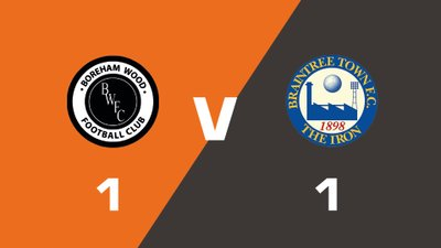 Highlights: Boreham Wood vs Braintree Town