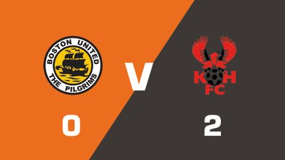 Highlights: Boston United vs Kidderminster Harriers