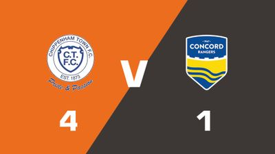 Highlights: Chippenham Town vs Concord Rangers