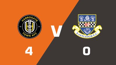 Highlights: Harrogate Town vs Eastleigh