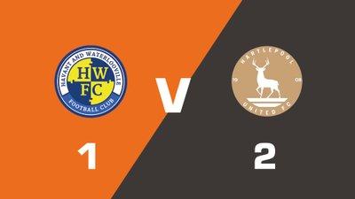 Highlights: Havant & Waterlooville vs Hartlepool United