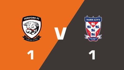 Highlights: Hereford vs York City