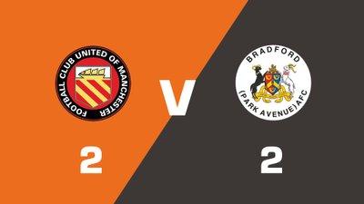 Highlights: FC United Of Manchester vs Bradford Park Avenue