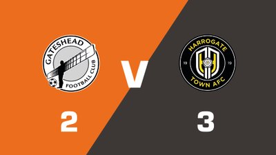 Highlights: Gateshead vs Harrogate Town