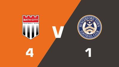 Highlights: Bath City vs Hungerford Town