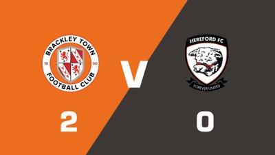 Highlights: Brackley Town vs Hereford